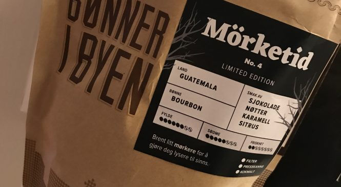 Bønner i Byen Mørketid no.4- Limited edition