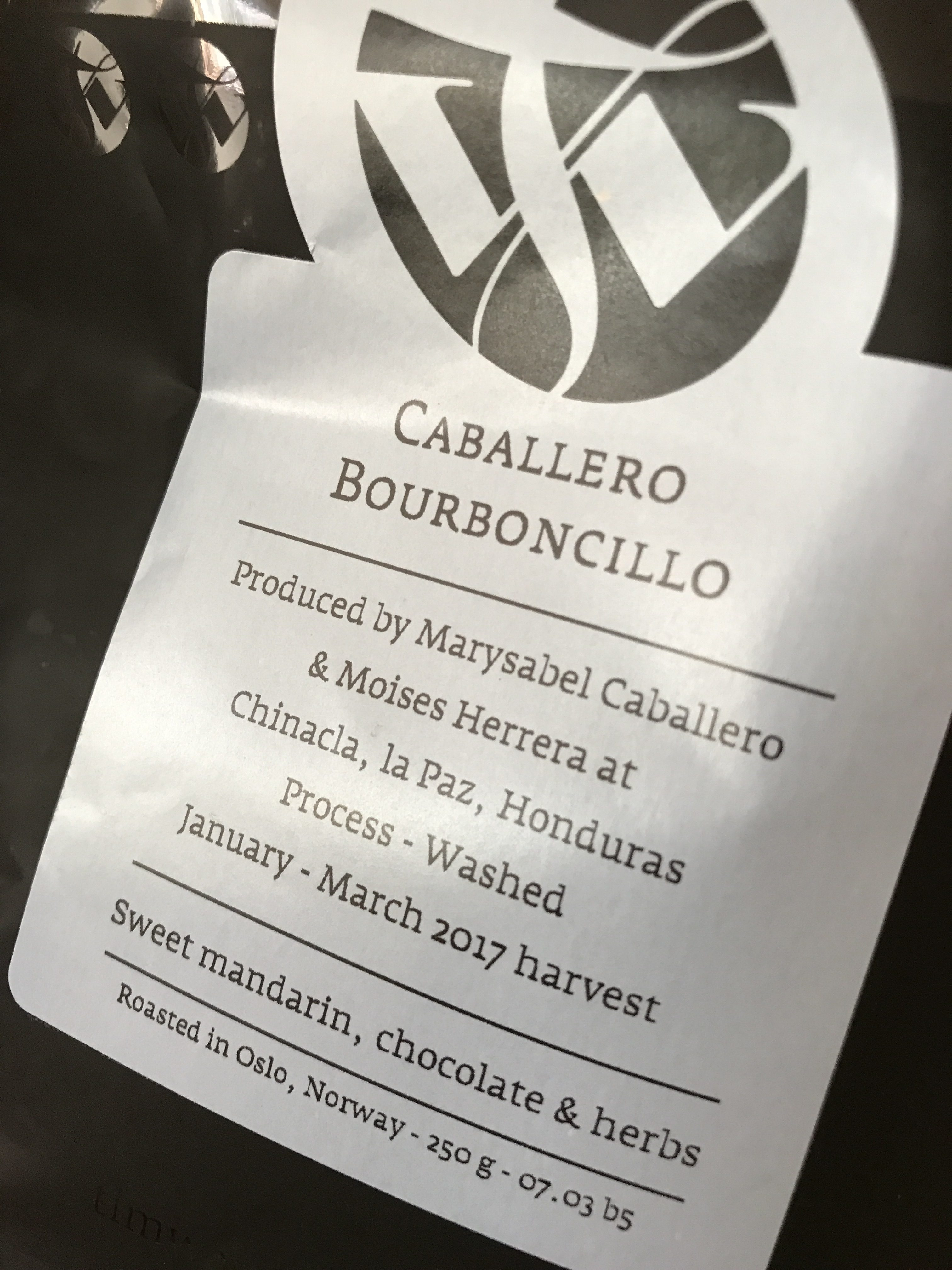Tim Wendelboe Caballero Bourboncillo