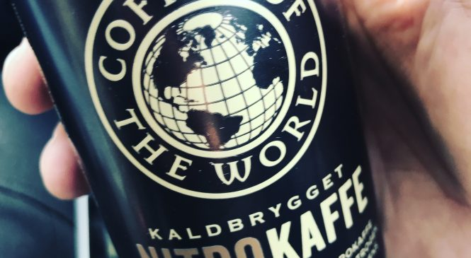 Coffee of the World – Kaldbrygget  Nitrokaffe