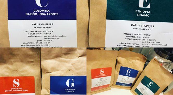 Caffeine Roasters – Div kaffe